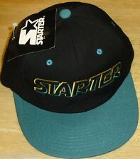 STARTER LOGO Vintage 90s Snapback hat NEW WITH TAGS! Original NBA NFL MLB style!