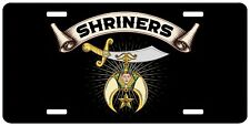 Shriners Beam License Plate Shriner Mason Auto Car Tag Emblem