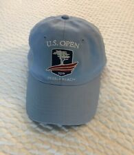 2019 Us Open Pebble Beach Usga Members Hat Golf Adjustable Light Blue Cap Cap