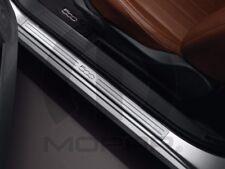 12-16 Fiat 500 New Stainless Steel Door Sill Guards Set of 2 Mopar Factory Oem