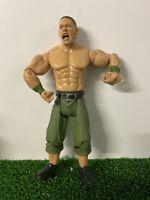 WWE WWF John Cena Wrestling Figure 2003 By Jakks Green Shorts