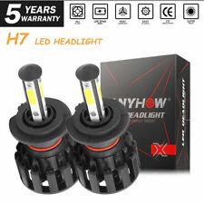 H7 LED Headlight Bulb Conversion Kit High Low Beam Fog Lamp For Volkswagen Golf