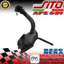 0226 MARMITTA SCARICO TERMINALE SITO PLUS PIAGGIO APE CAR 601 / TM 703