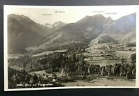 Vintage Antique RPPC Postcard Blick Auf Magarethen Real Picture Countryside