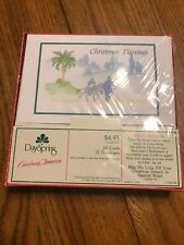 Dayspring Country Christmas Blessings Cards Set of 20 Cards 21 Envelopes