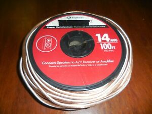 Speaker Wire Copper Clad Aluminum 14AWG 100FT
