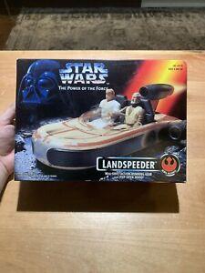 1995 STAR WARS  ~ LANDSPEEDER ~ POWER OF THE FORCE ~ NEW, SEALED BOX!