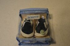 Robeez Baby Boys Navy Blue and White shoe 0 - 6 months  NIP