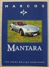 Marcos Mantara Opuscolo Vendite AUTO 1998