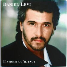 """DANIEL LEVI - CD SINGLE PROMO """"L'AMOUR QU'IL FAUT"""""""