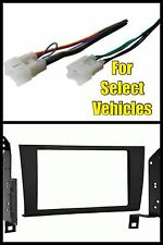 Double Din Car Radio Install Dash Kit + Wire for 98-05 Lexus GS300/GS400/GS430