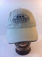 Ring's End Lumber Adjustable Baseball Hat Cap Strapback