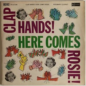 ROSEMARY CLOONEY - CLAP HANDS! HERE COMES ROSIE! LP - 1960 UK RCA RD-27189  VG+