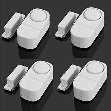 4 Wireless Home Window Door Entry Burglar Security Alarm System Magnetic Sensor