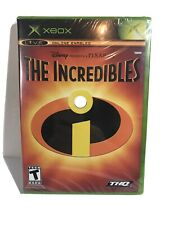 Incredibles (Microsoft Xbox, 2004) Brand New Black label - Factory Sealed
