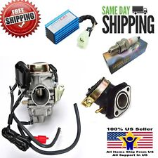 NEW 24mm YERF DOG DOGG 150cc 150 CARBURETOR & INTAKE MANIFOLD MOPED SCOOTER CARB