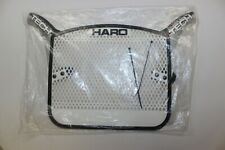 NOS HARO TECH PLATE ORIGINAL 80's BMX NUMBER PLATE BLACK/GREY