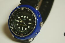 seiko h558 BLUE DURABLE PLASTIC shroud + 3 screws diver tuna ++++READ BELOW