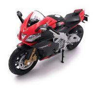 Motocicletta Modello Aprilia RSV4 Moto Bike Modello Scala 1:18