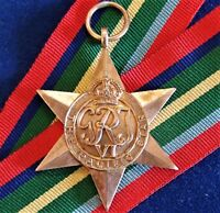 VINTAGE WW2 THE PACIFIC STAR AUSTRALIA BRITISH WAR MEDAL 100% ORIGINAL ANZAC