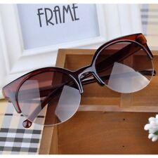 Mode Damen Überdimensional Designer Retro Sonnenbrille Groß Rahmen Brillen