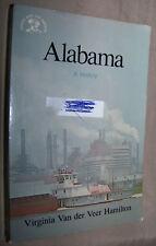 VIRGINIA VAN DER VEER HAMILTON Alabama: A History - Paperback Book 1984 Textbook