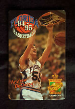 1994-95 University of Florida Gators Basketball Schedule -  Andrew DeClercq