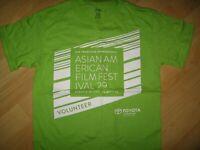 SF Asian American Film Festival Tee - 2011 San Francisco California T Shirt Sm