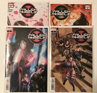 Fallen Angels #1-4 Comic Lot (X-Men Psylocke Marvel Comics 2020) NM Bag/Board