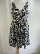 "Ladies Dress ICHI size M, animal print, bust 34"", waist 30"", length 37"" 2480"