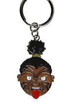 Maori Warrior Smiley Key chain Original Art Aotearoa New Zealand Pride Culture