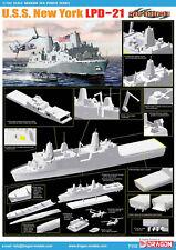 Dragon Plastic Model Kits #7110 1/700 U.S.S. New York LPD-21