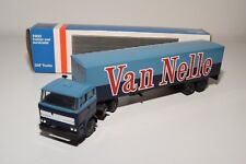± LION CAR DAF 2800 TRUCK WITH TRAILER VAN NELLE NEAR MINT BOXED