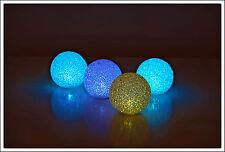 LED Leuchtkugel 8 cm mit Farbwechsel - Ball Kugel Lampe Stimmungslampe Leuchte