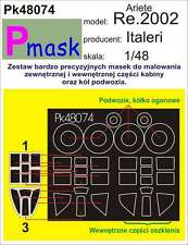 RE.2002 ARIETE PAINTING MASK TO ITALERI KIT #48074 1/48 PMASK