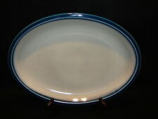 """Wedgwood BLUE PACIFIC OVAL SERVING PLATTER 13"""" Exc. Condition ! Made In England"""