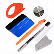 Vehicle Wrap Vinyl Tools Kit Felts Scraper Micro Squeegee TUCK Wrapping USA