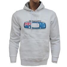 Oakley Surfers Hoodie Black Size XL Mens Australia Flag Fleece Jumper Sweater