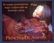 Peru 1195 Princesa de Amapto Souvenir Sheet MNH