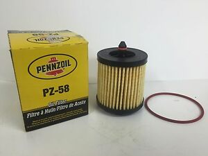 Pennzoil PZ-58 Engine Spin-On Oil Filter # 5058795