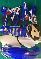 Kit plastique + kit déco super-État 125 YZ YAMAHA 2006 2015