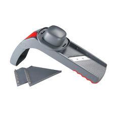 NEW Avanti Folding Mandolin Slicer 5 cutting blades with handy storage box