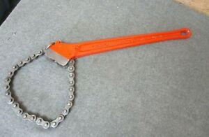 RIDGID Chain Pipe Wrench C-18 USA