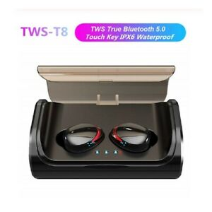 Wireless Bluetooth 5.0 Headphones Earphones In-Ear sport Pods For iPhone Android