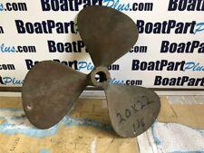 "Federal 3 Blade Bronze Propeller 20 x 22 LH 1 1/4"" Bore"