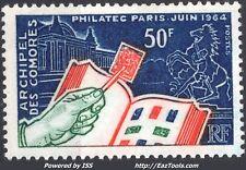 COMORES PHILATEC A PARIS N° 32 NEUF ** SANS CHARNIERE