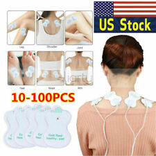 10-100PCS Snap On Replacement Pads For Electrode Tens Unit&Pulse Massager USA