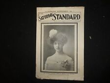1901 DEC 28 NY SATURDAY STANDARD MAGAZINE ILLUSTRATED SUPPLEMENT NO. 1 - ST 3193