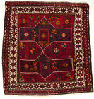 A nice, small Fachralo Rug from the Caucasian Bordjalou Region, about  1900