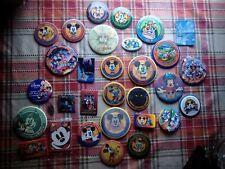 Disney Pin / Pinback Button - 1993- 2000 Official Disneyana Convention 31 total